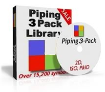 AutoCAD Piping 3-pack