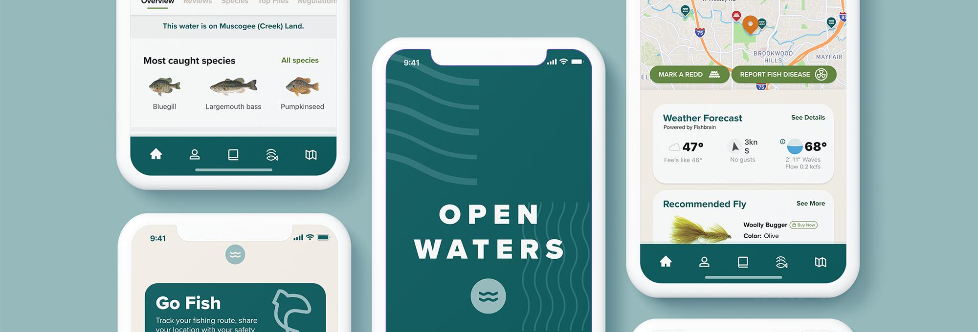 Open Waters Top Hero