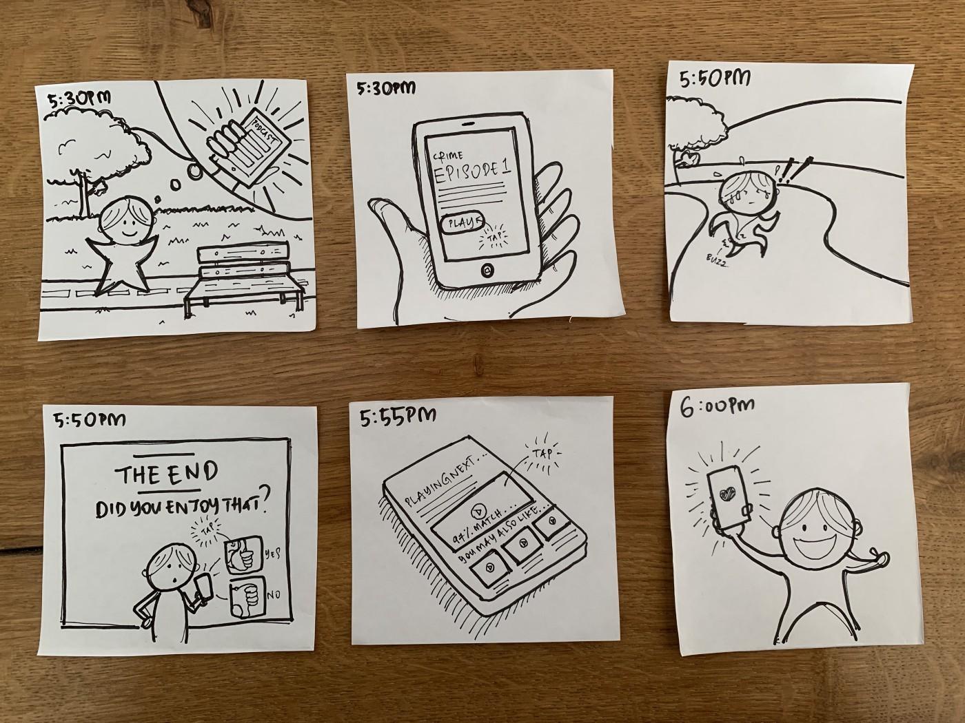 Blog Post - Switching Career - Storyboarding