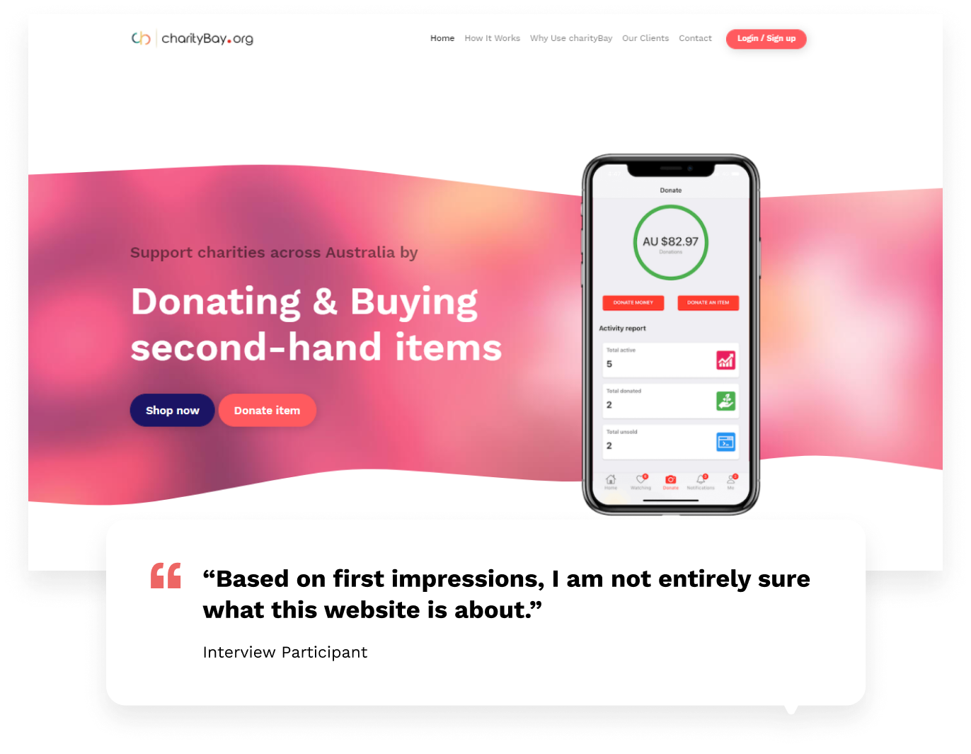 charityBay Case Study Interview Findings