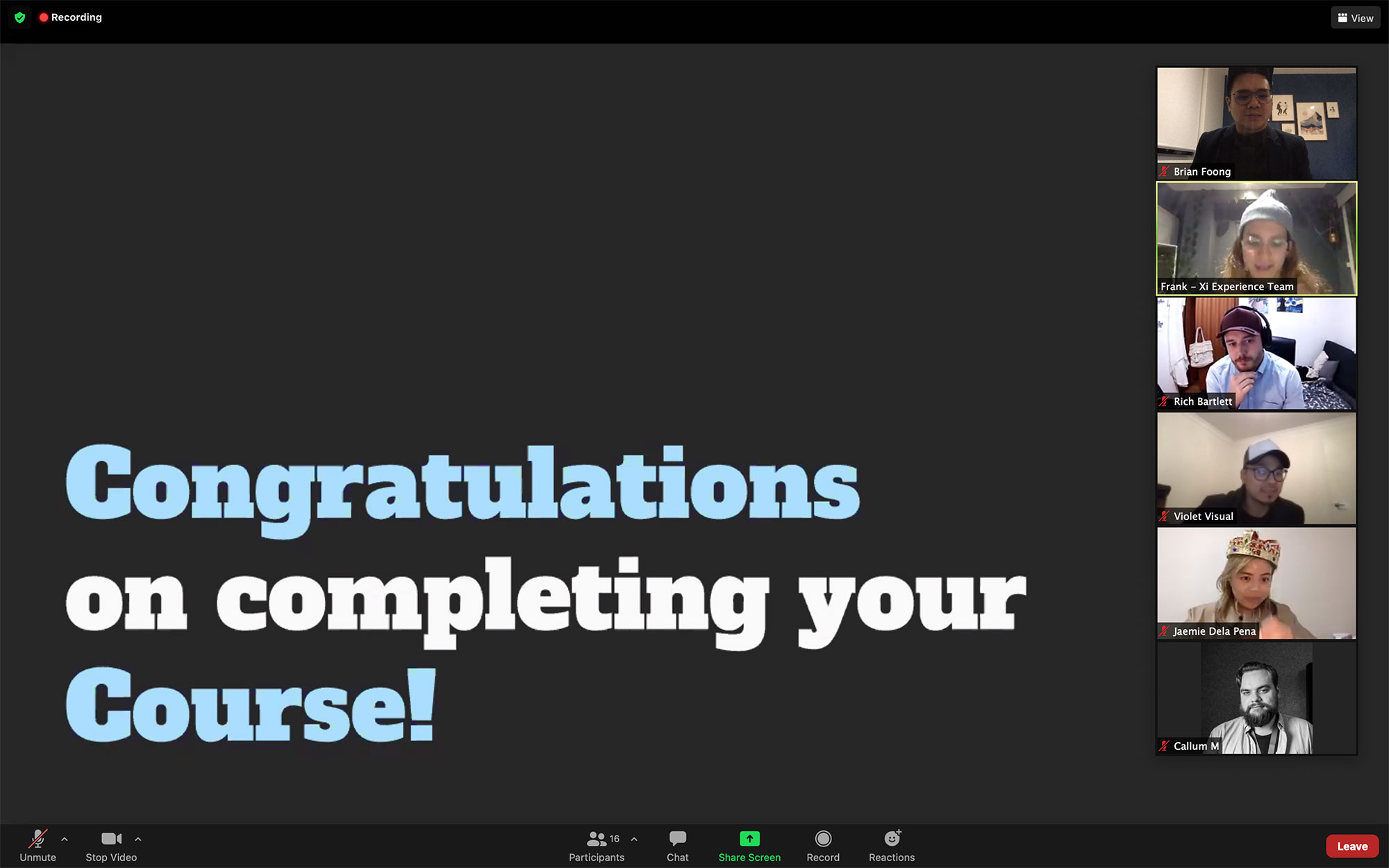 UX/UI Transform Course Graduation
