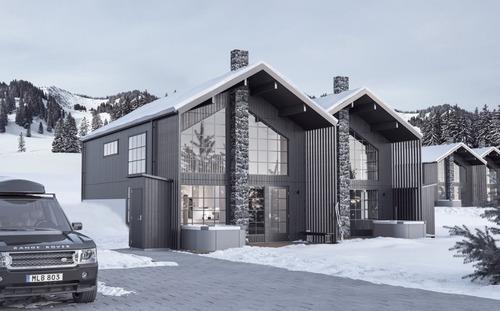 Nybyggnation av fritidshus i Åre, 2019