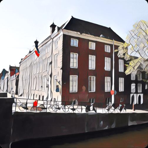 Een afbeelding van de locatie van ActTogether op de Prinsengracht in Amsterdam