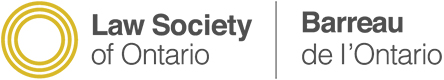 Law Society of Ontario Logo for BIG Law