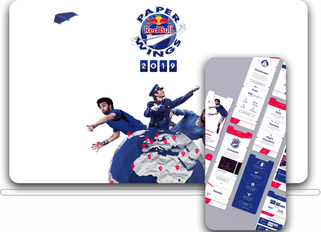 Red Bull Paper Wings Project Preview Image