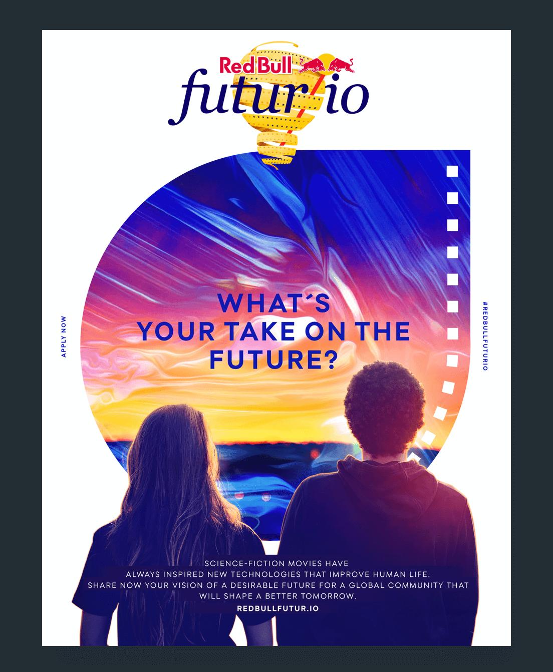 The futur/io key visual