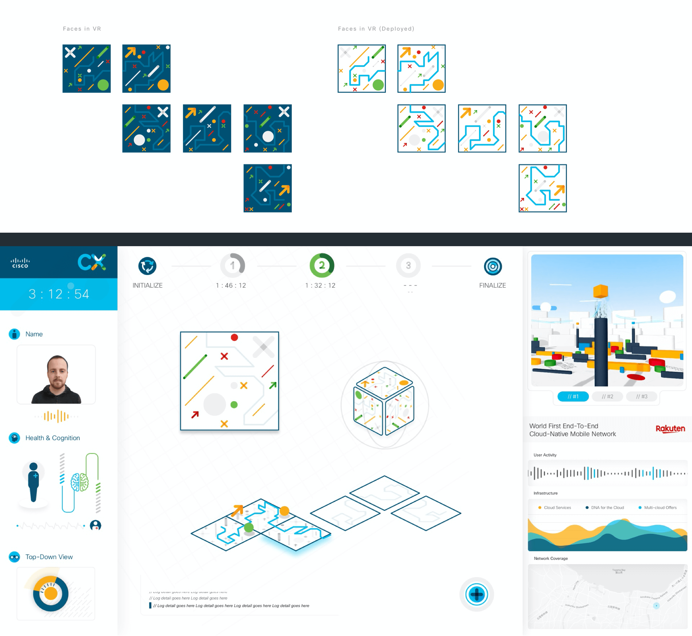 The game 2 UI for the CX Expert dashboard