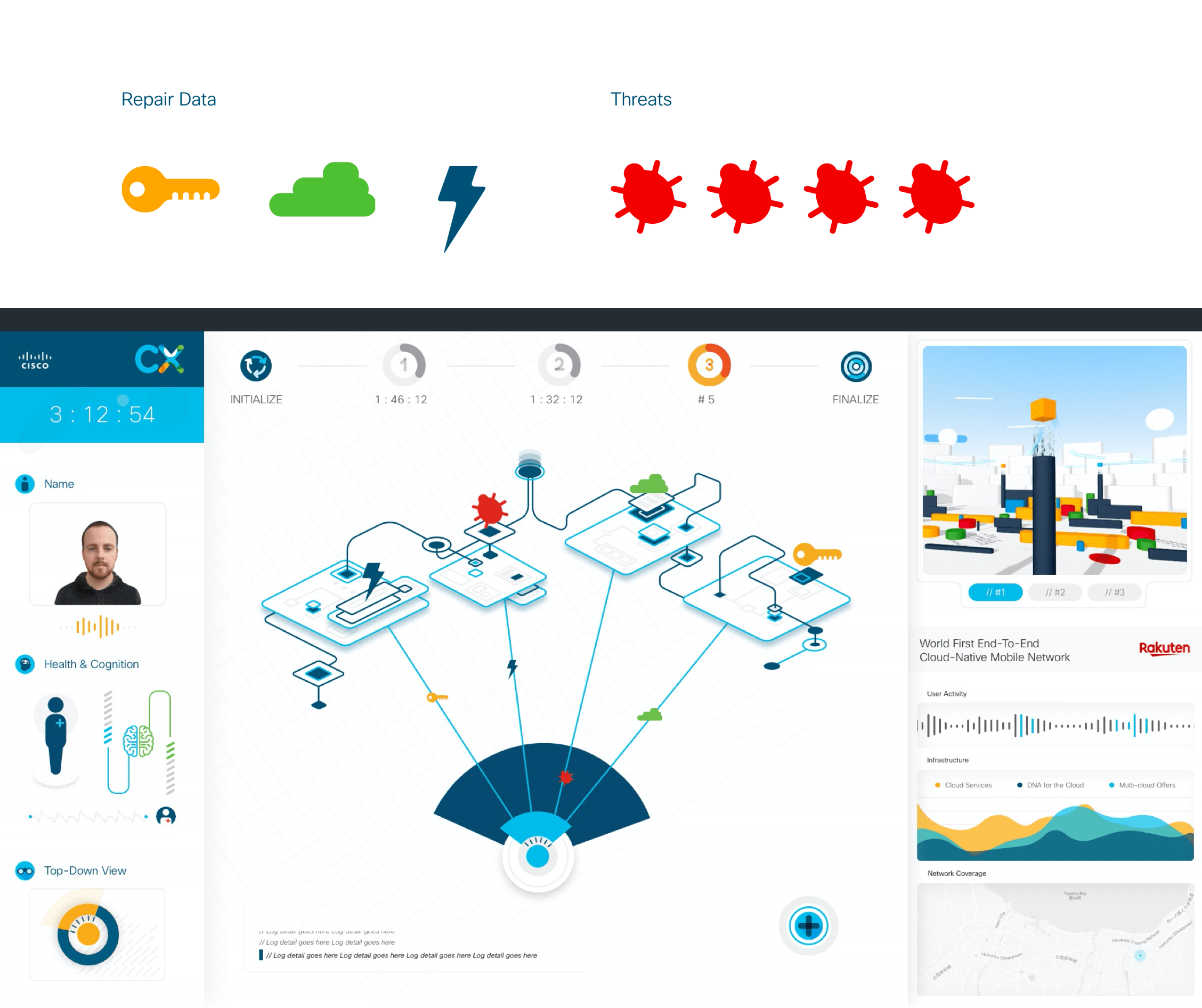 The game 3 UI for the CX Expert dashboard
