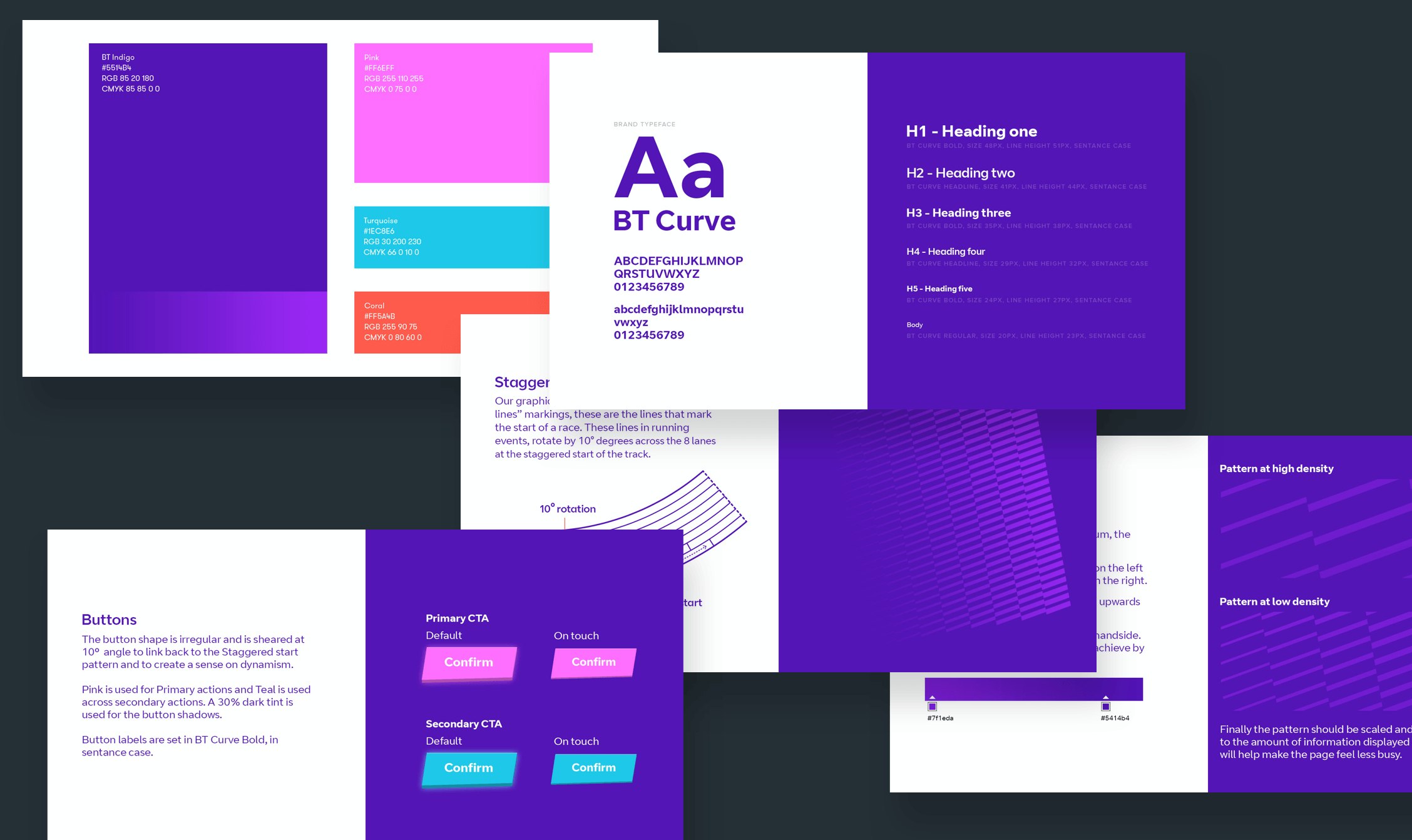 A collection of the Digital Dash branding guidelines