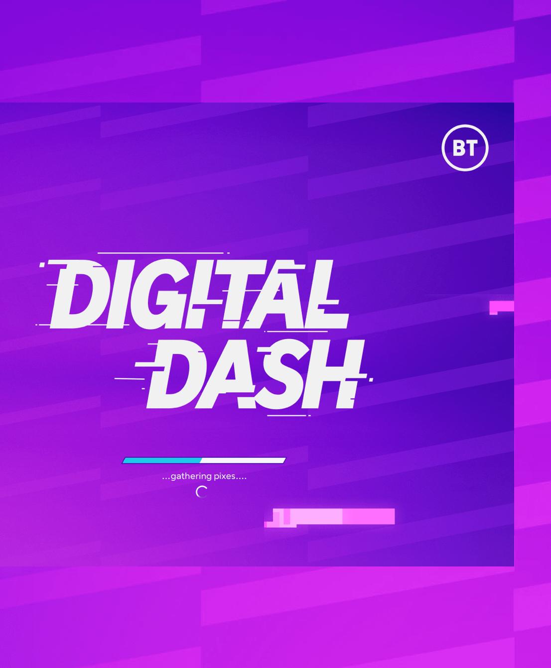 The Digital Dash branding logo