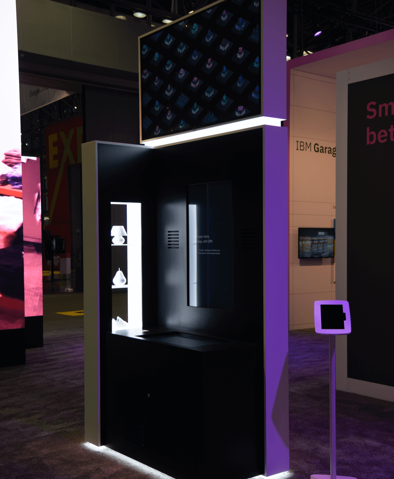 Photo of the installation at the NFR Vision Show