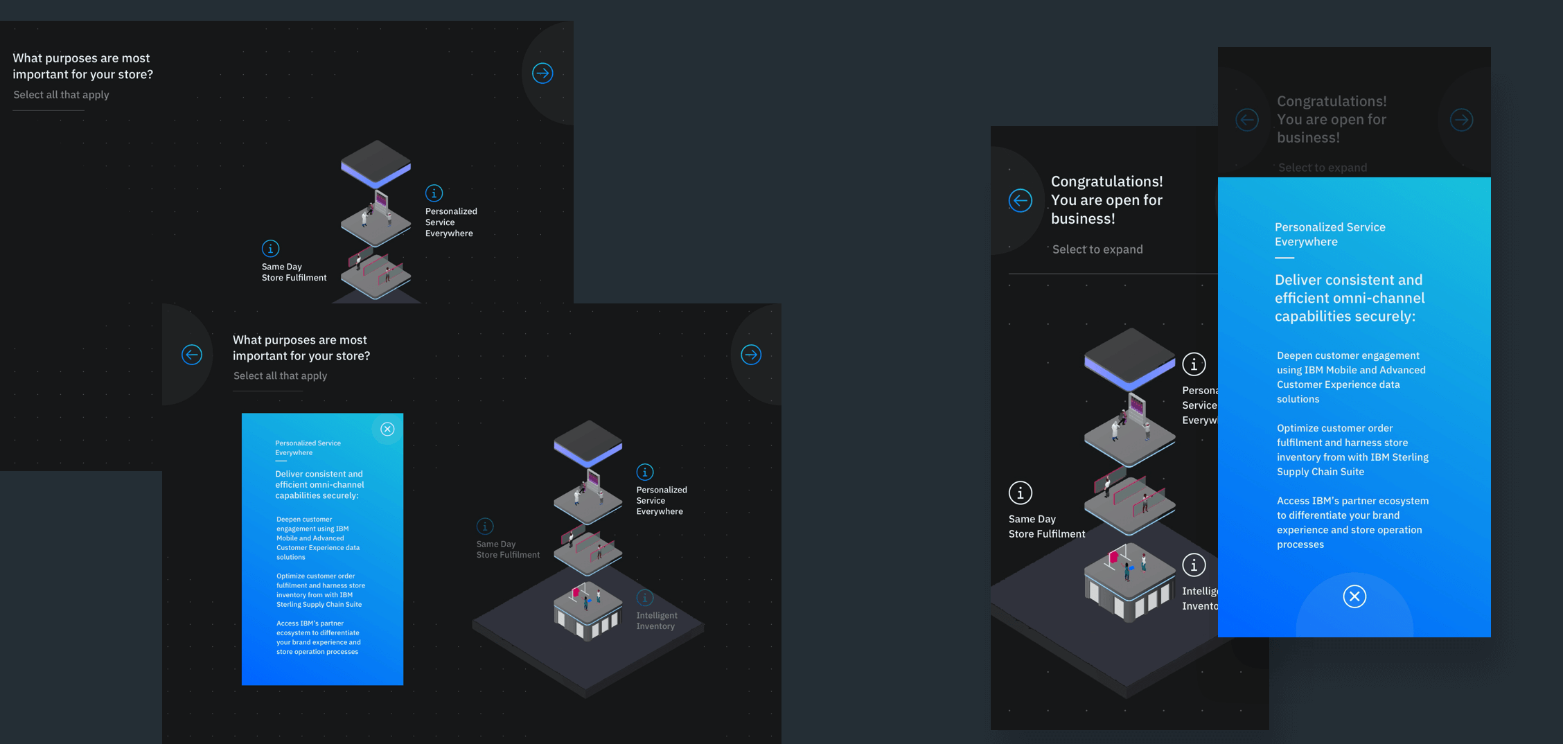 The reveal designs for desktop and mobile