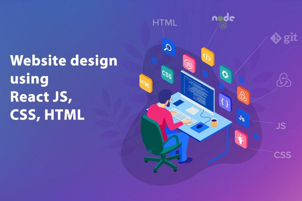 CSS, HTML, ReactJS