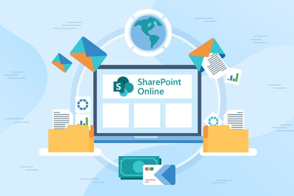 Configure Microsoft Sharepoint based intranet with a Document Management System