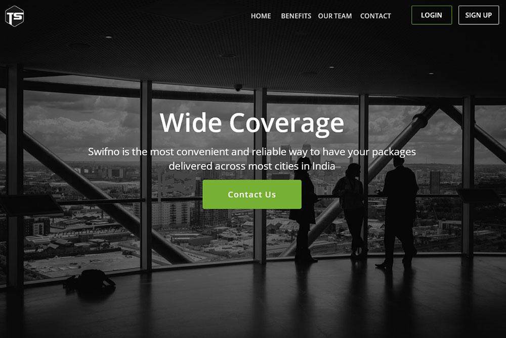 Swifnon - Web app for logistics business
