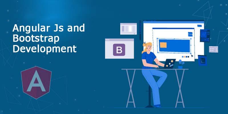 Angular Js and Bootstrap Development