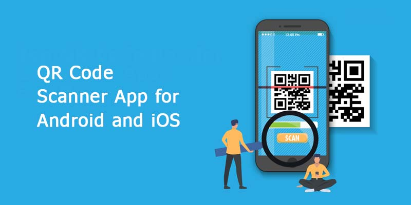 Frontend and Backend developement of QR Scanner App