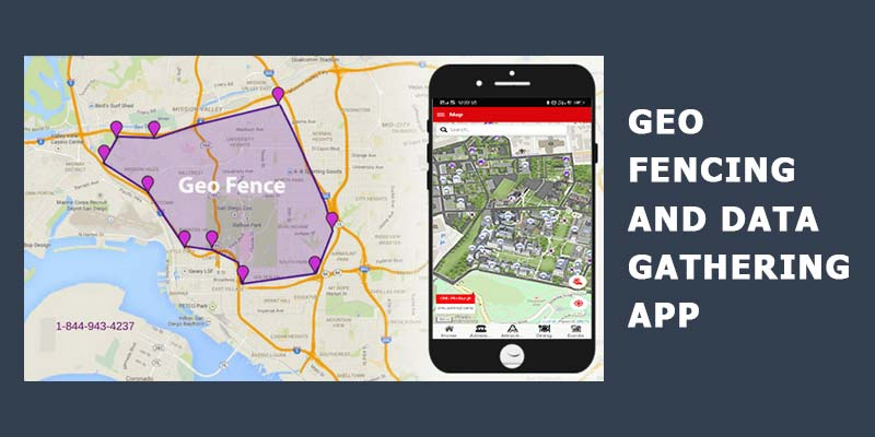 Geo Fencing and Data Gathering App
