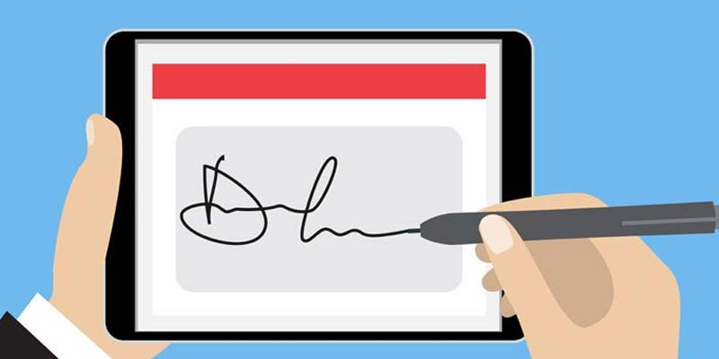 Digital Signature Capture on iOS Added to an App