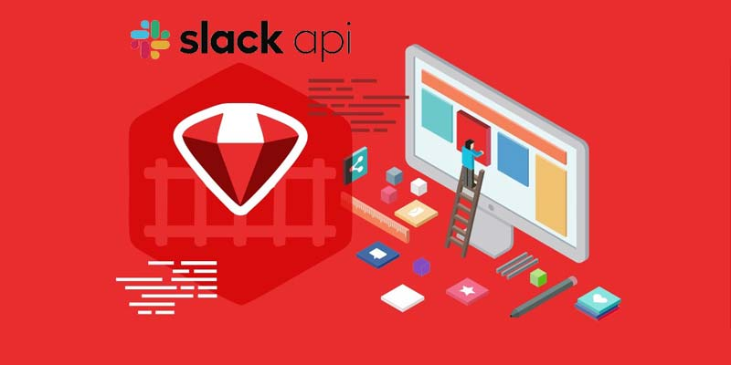 Slack API for RoR Web App