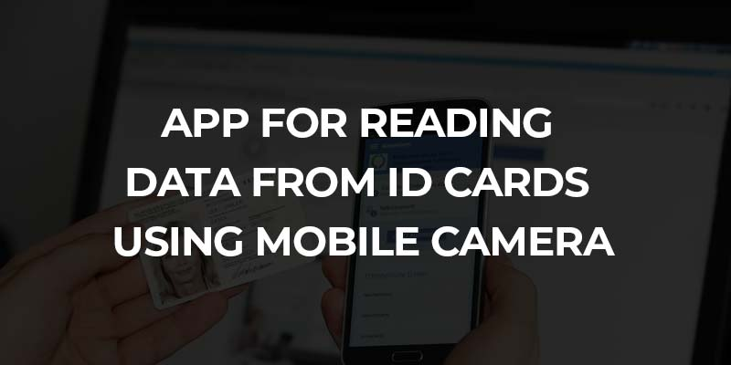 App for Reading Data from ID Card