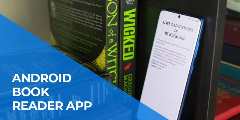 Android Book Reader App