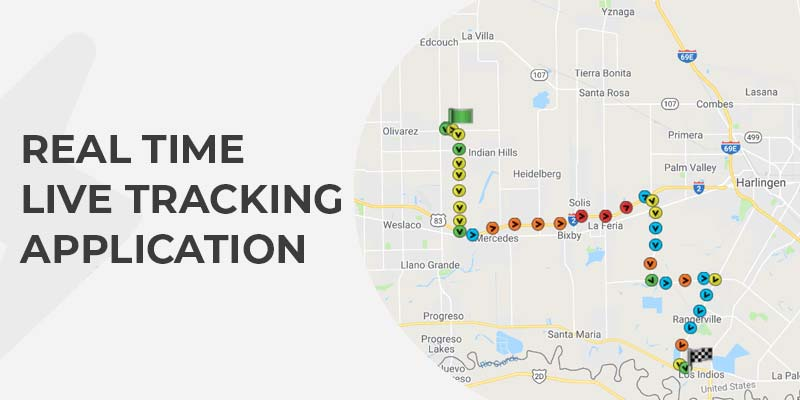 Map Based Web Application