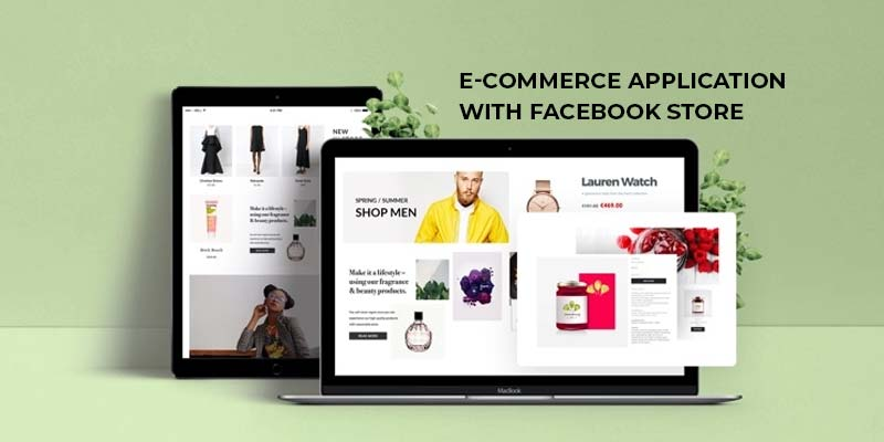 Facebook Page, Store and Website Ecommerce Design