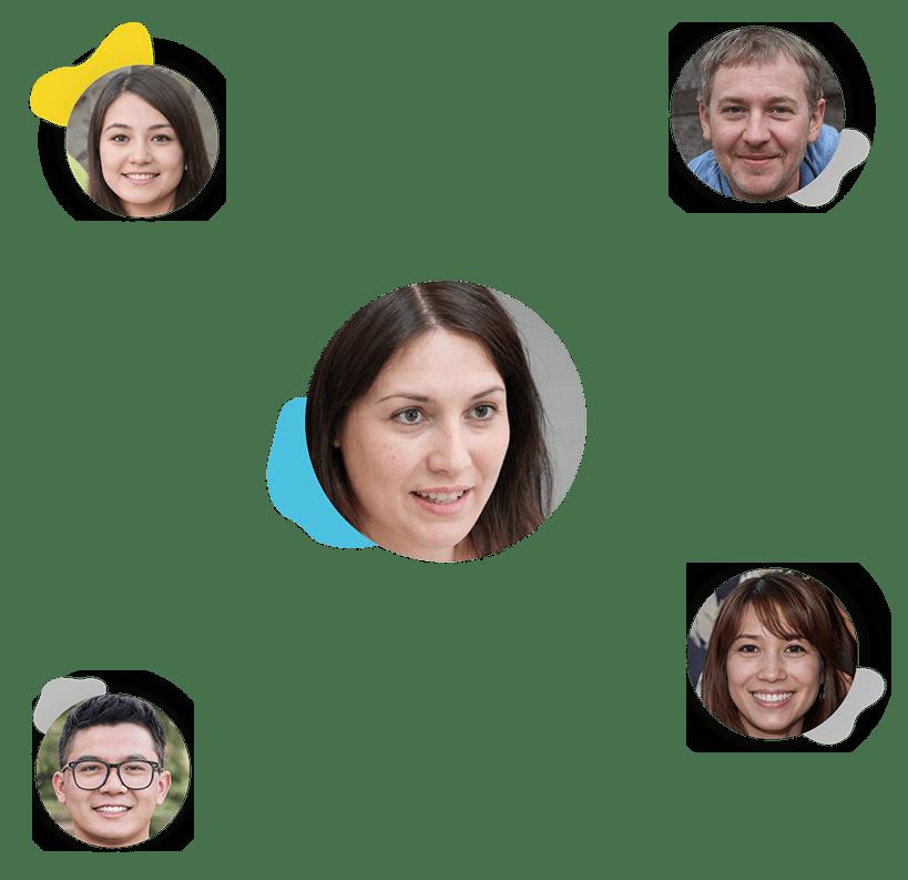Team Member Collage