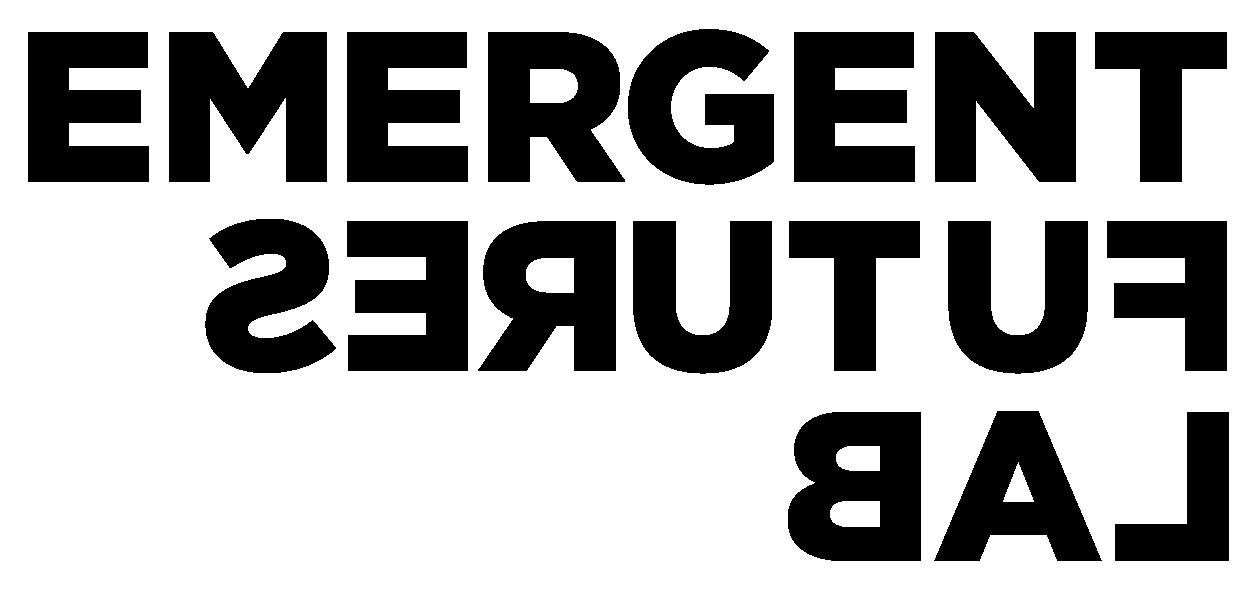 Emergent Futures Lab Black Logo