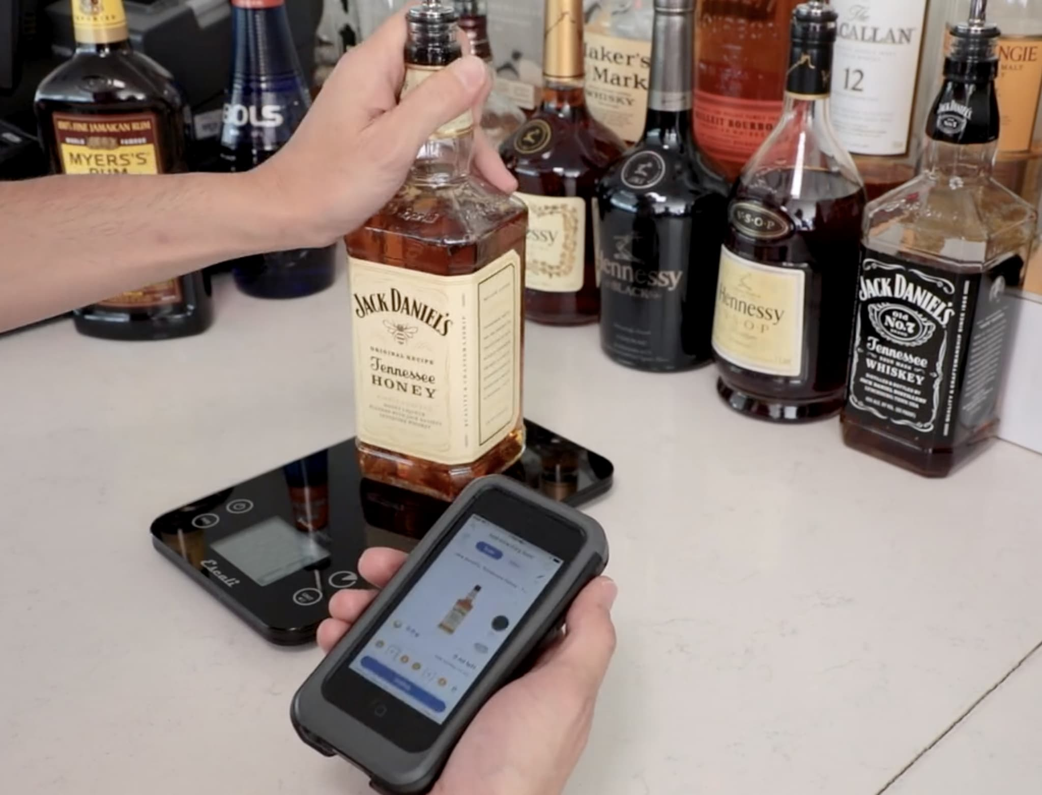 iphone, liquor, bar inventory app, wisk, alcohol