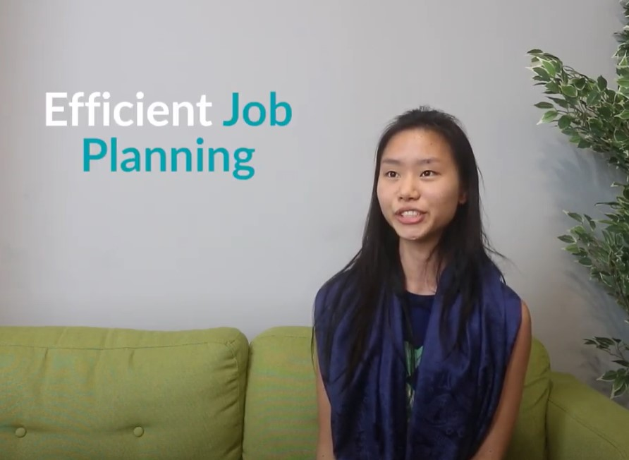 Customer benefits from efficient job planning when using FleetManager