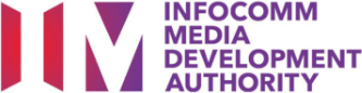 Logo of Infocomm Media Development Authority