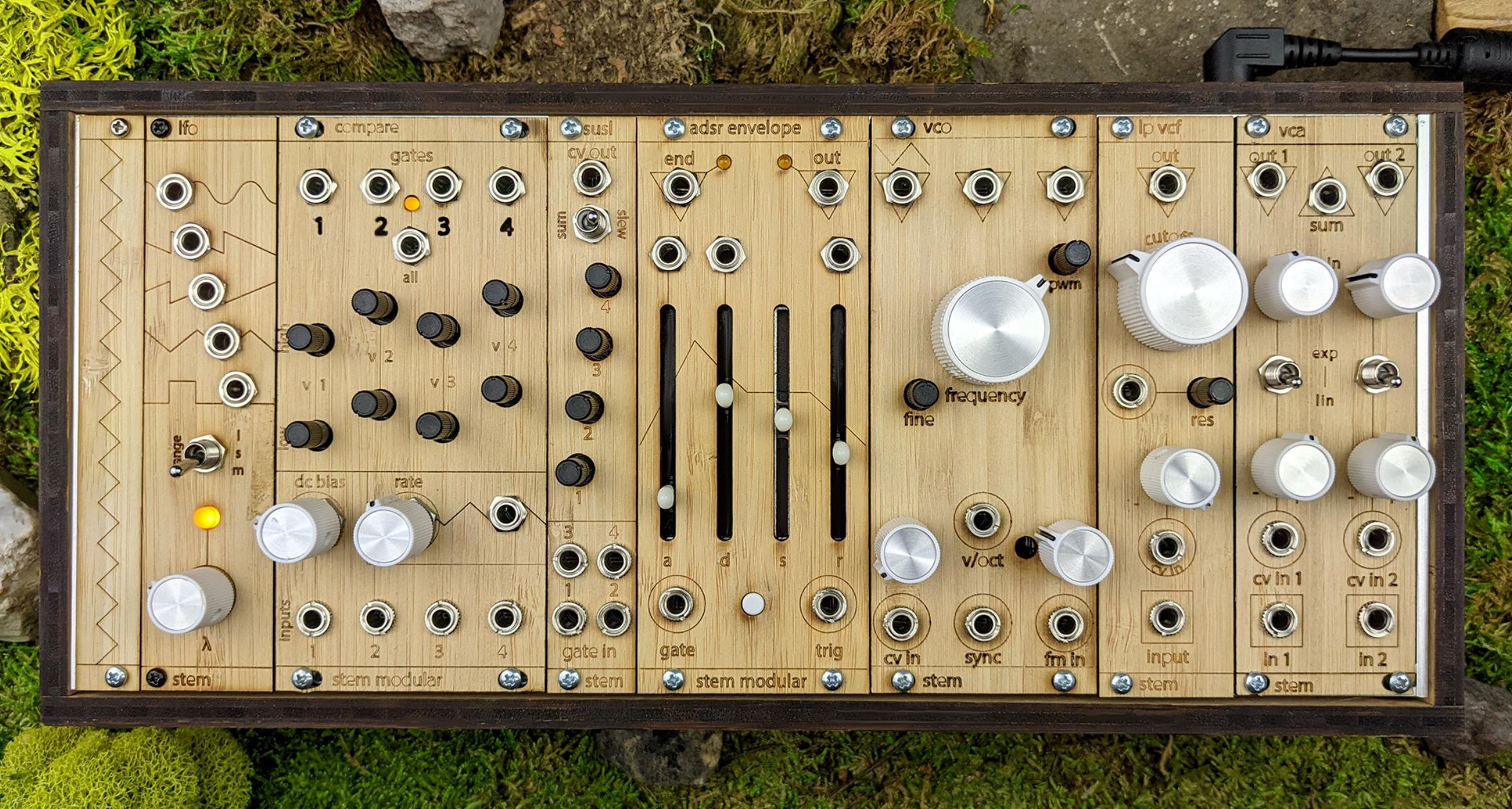 Stem Modular // Wesley Marcarelli // synth system