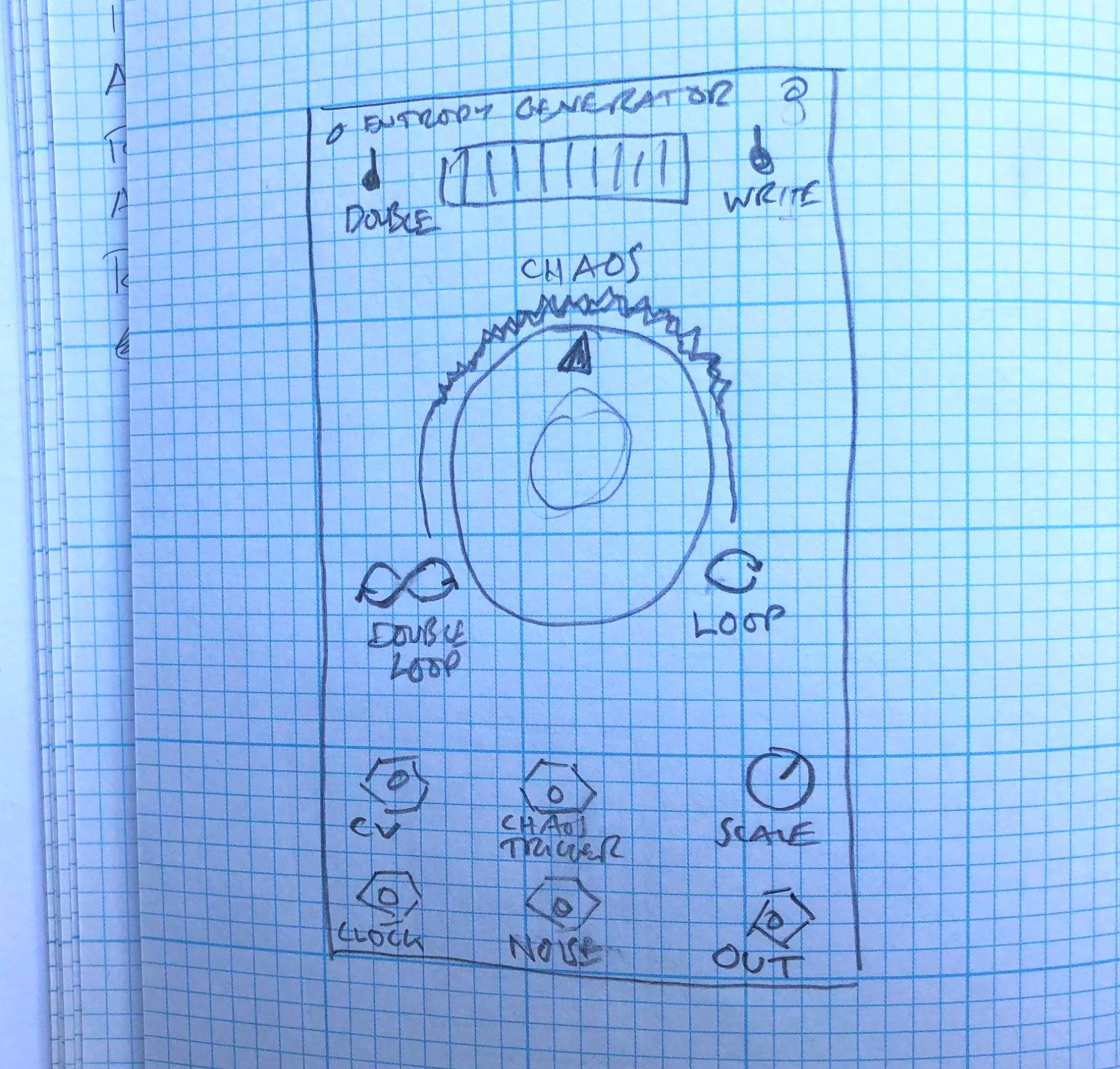 Music Thing Modular // Tom Whitwell // Turing Machine interface sketch