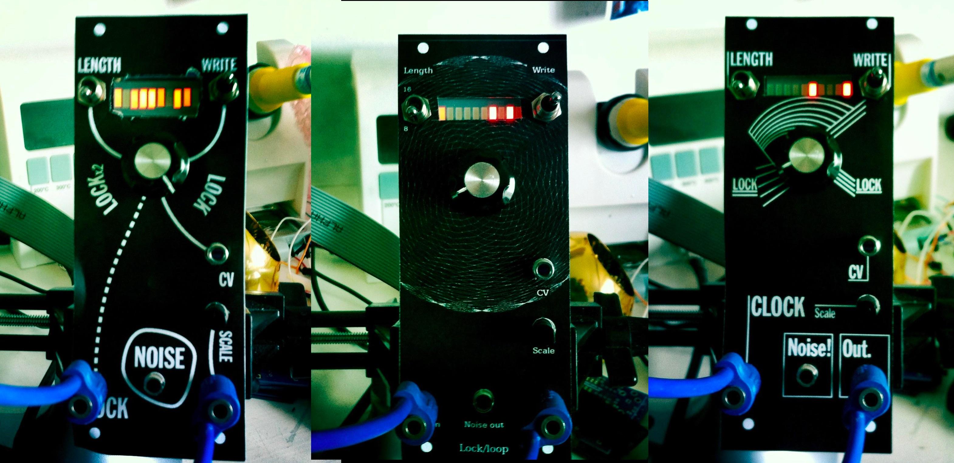 Music Thing Modular // Tom Whitwell // Turing Machine early Eurorack prototypes