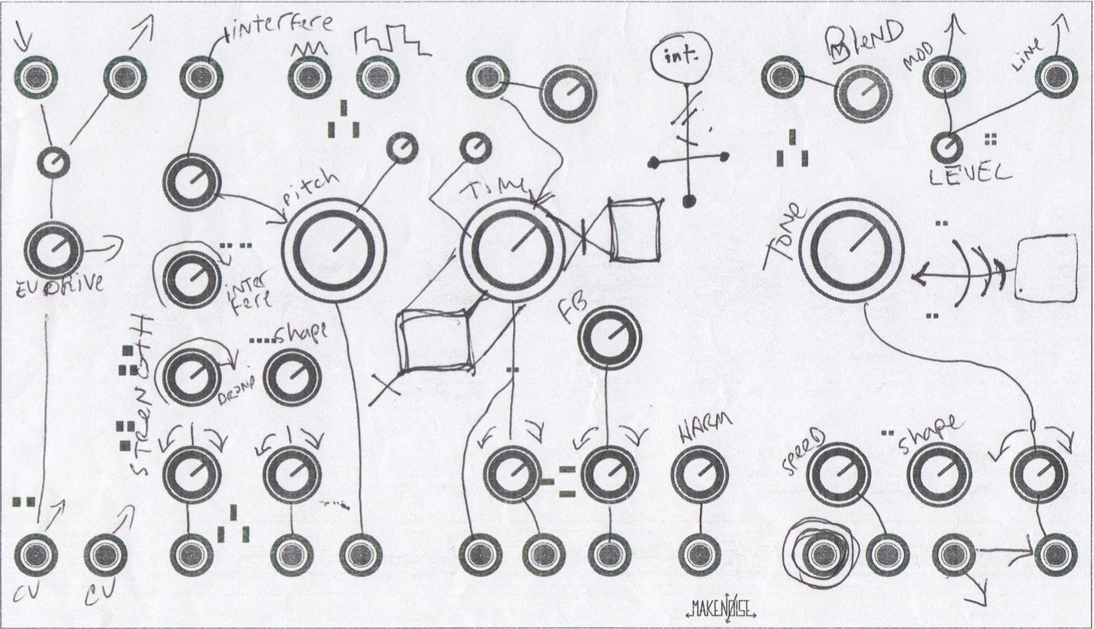 Make Noise // Strega // Tony Rolando // Interface Study