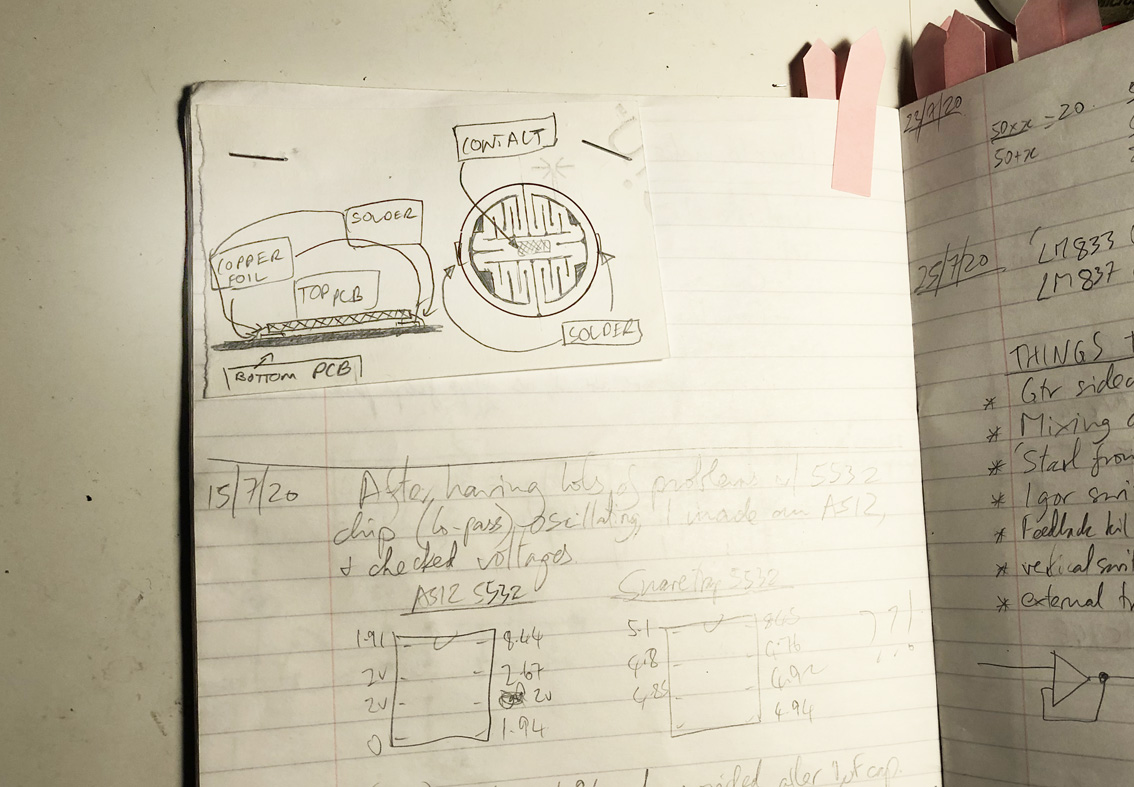 RaingerFX // David Rainger // Snare Trap // Custom button design concept