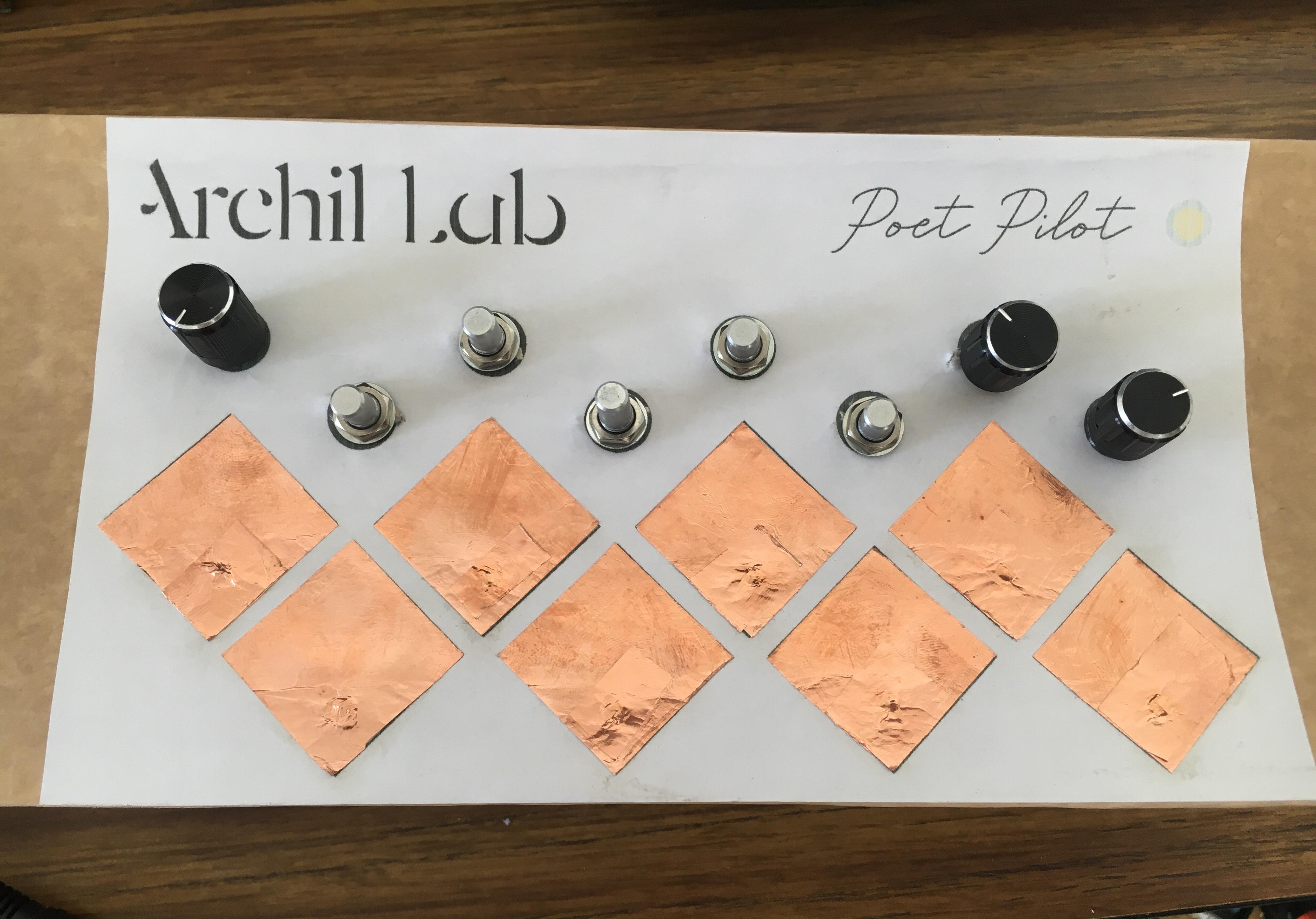 Archil Lab // Poet Pilot // Cardboard prototype
