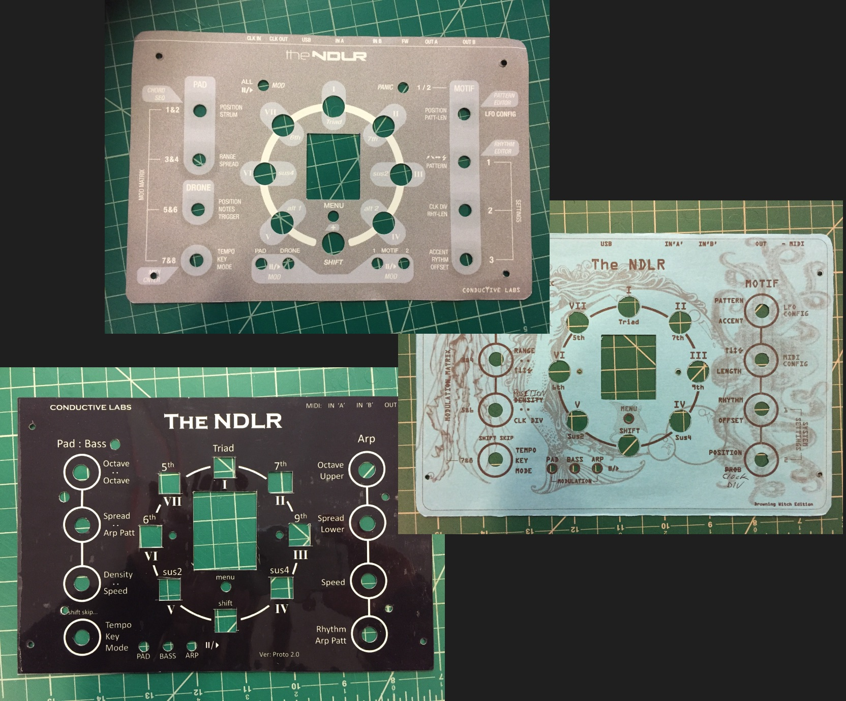 Conductive Labs // S. Barile & D. McGee // various NDLR interfaces