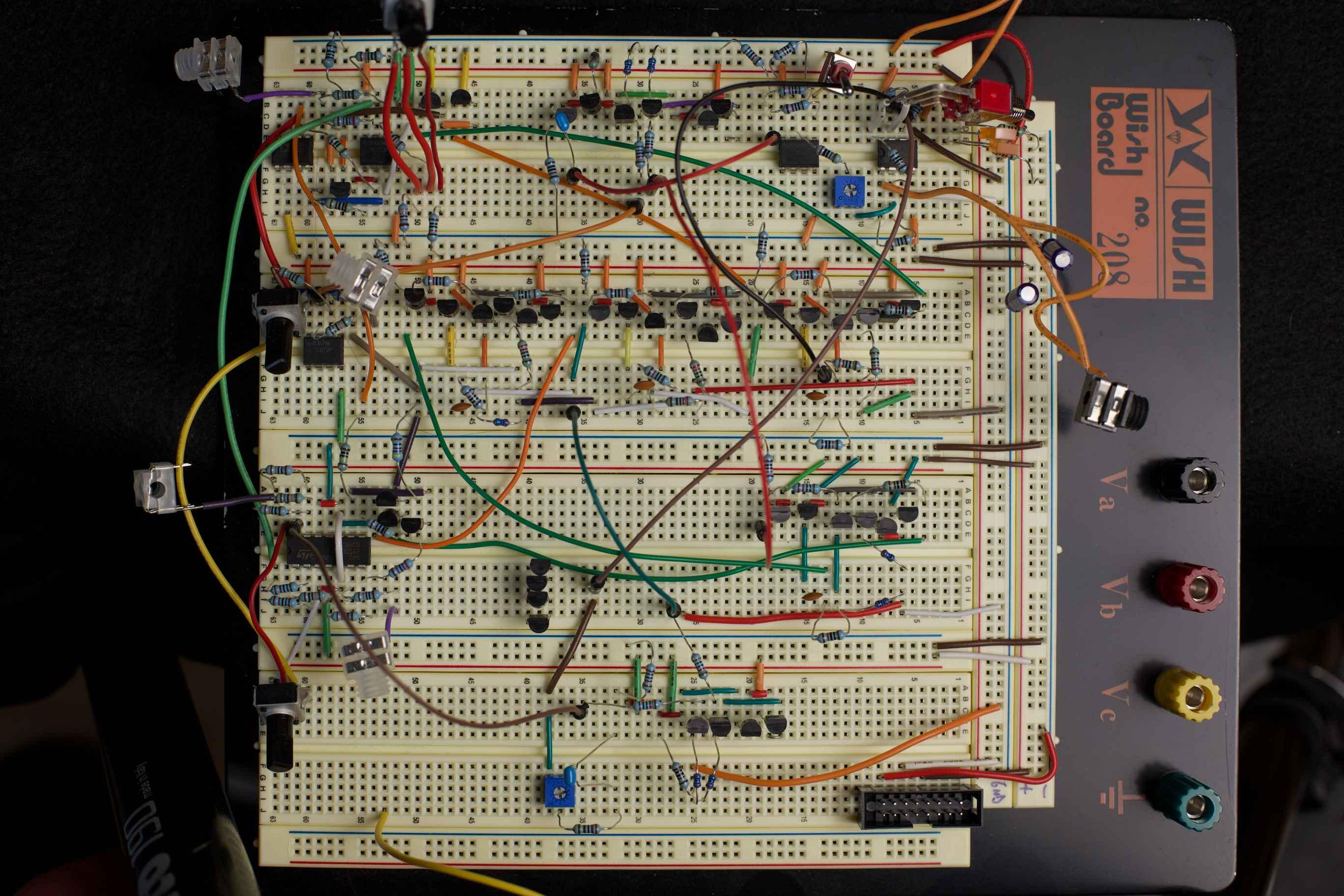 Expert Sleepers // Andrew Ostler // Breadboard prototype Beatrix phaser