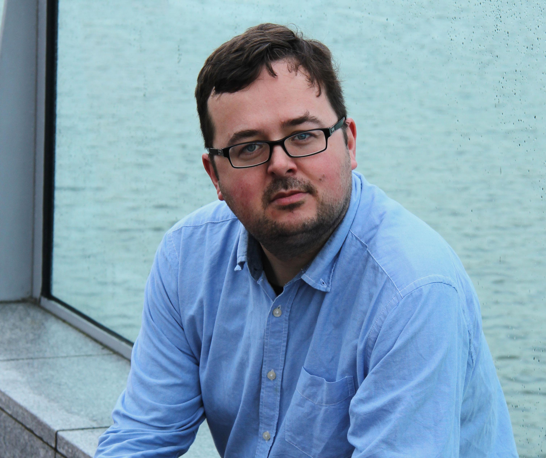 James Phelan at Waterford Film Festival