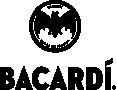 Bacardi logo in black