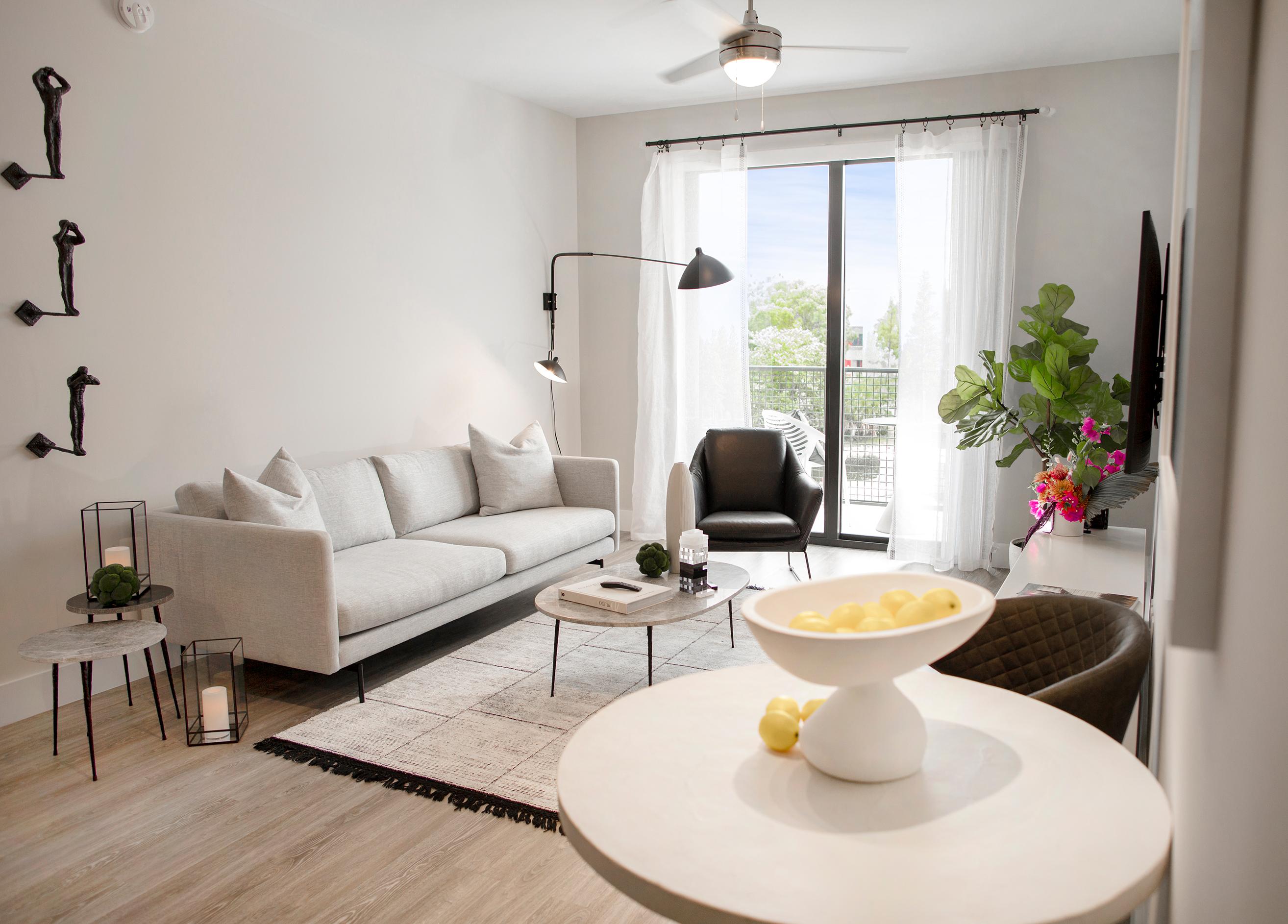 Sanctuary Doral living room