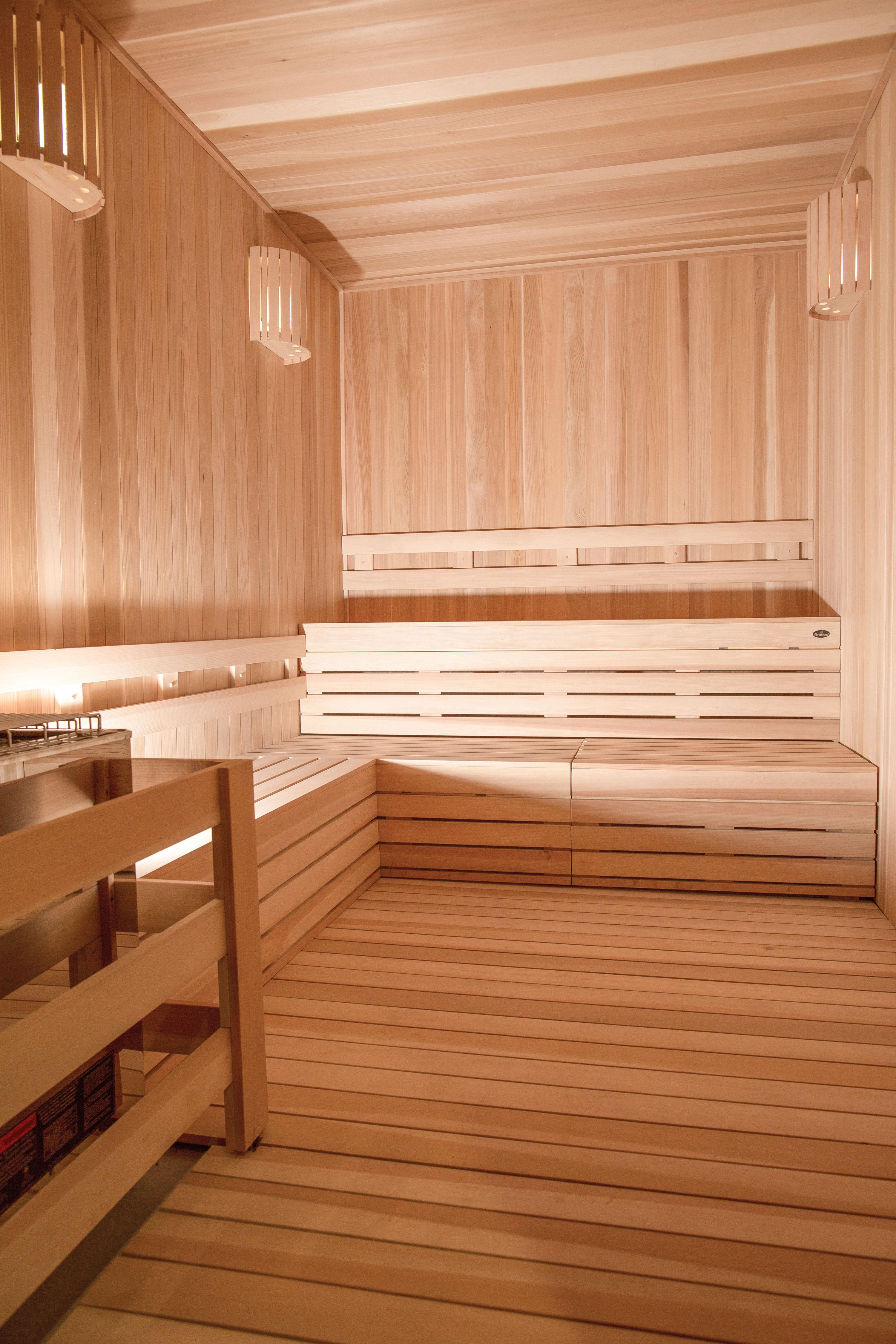 Sauna at Sanctuary Doral