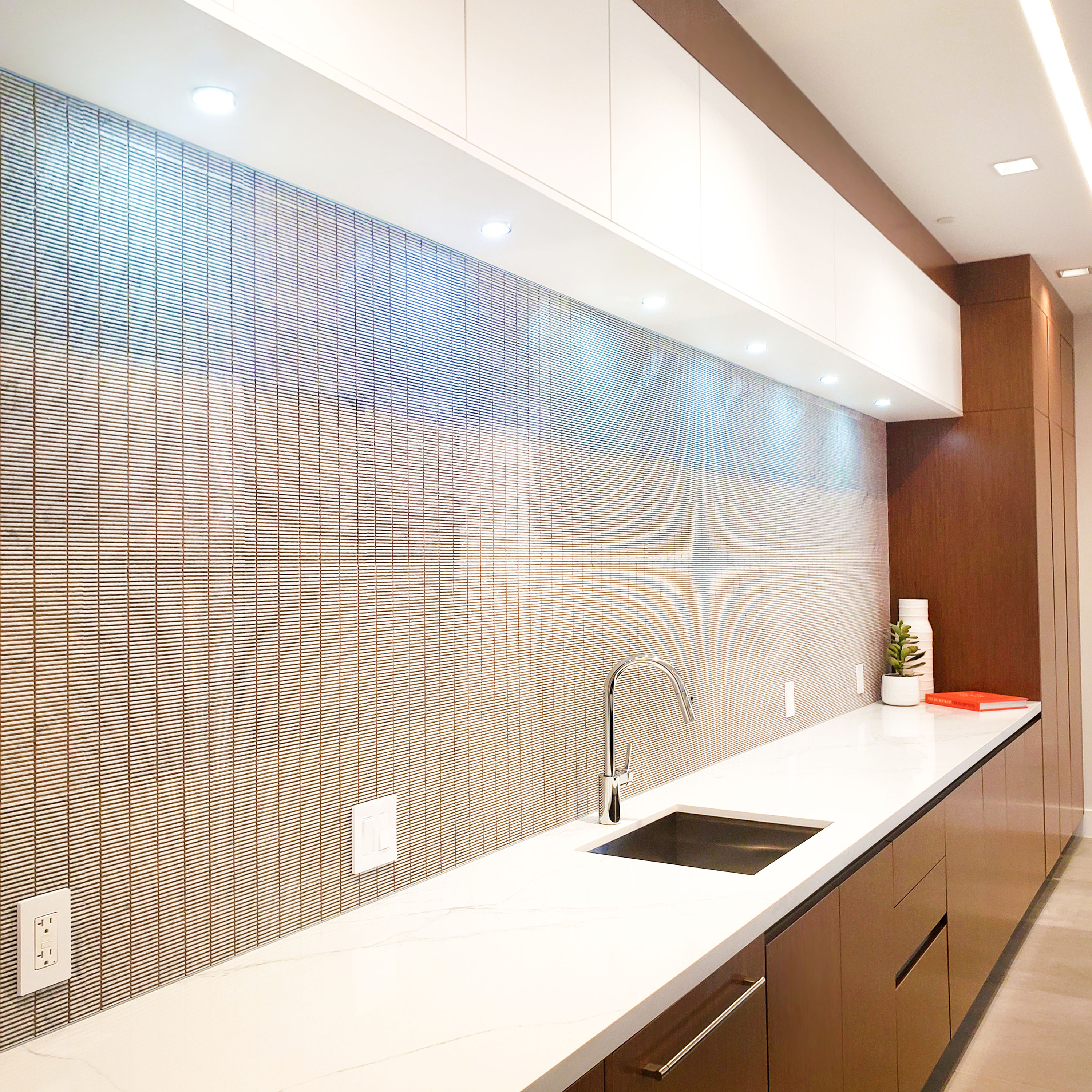 clubroom countertop and sink