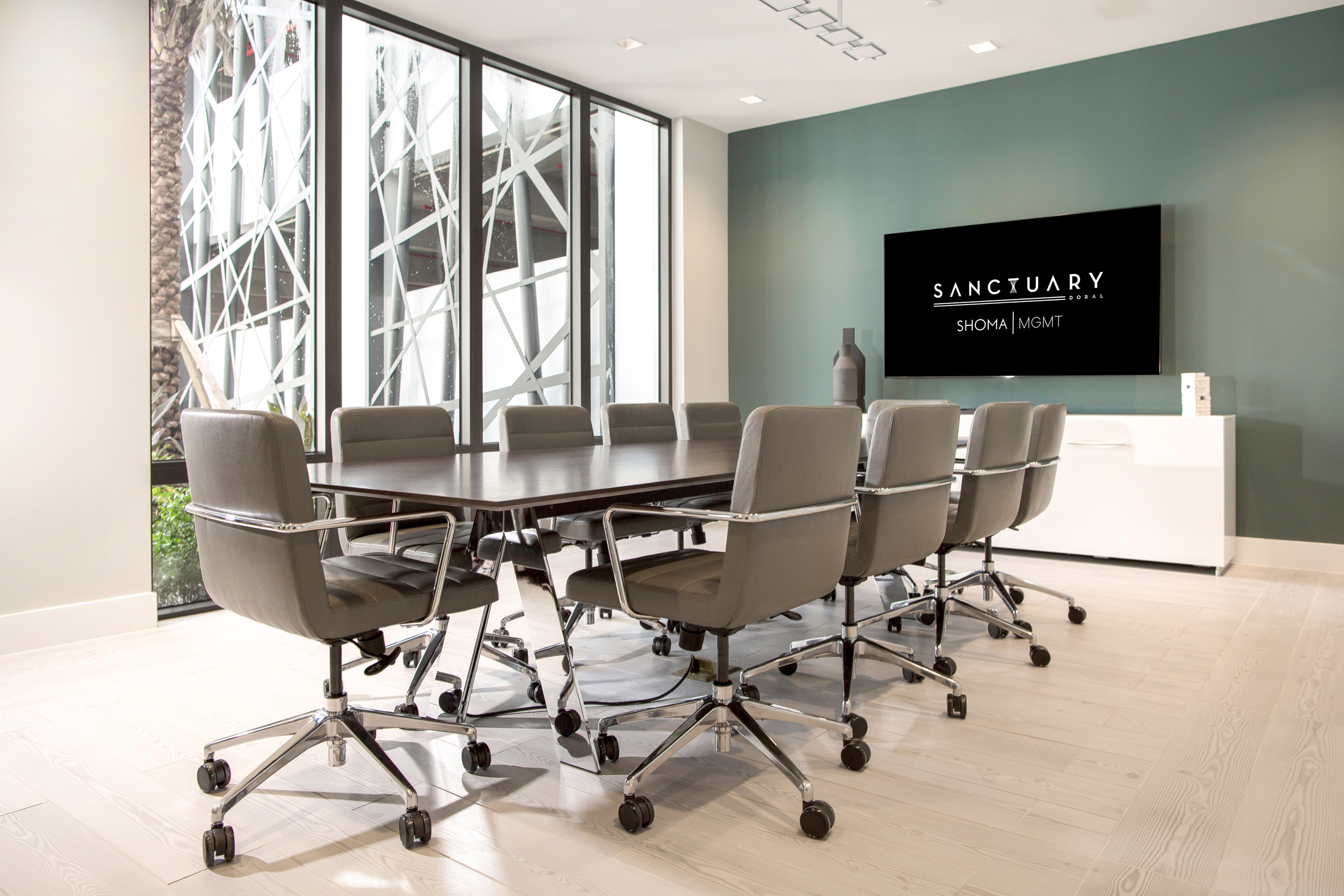 conference room at sanctuary doral