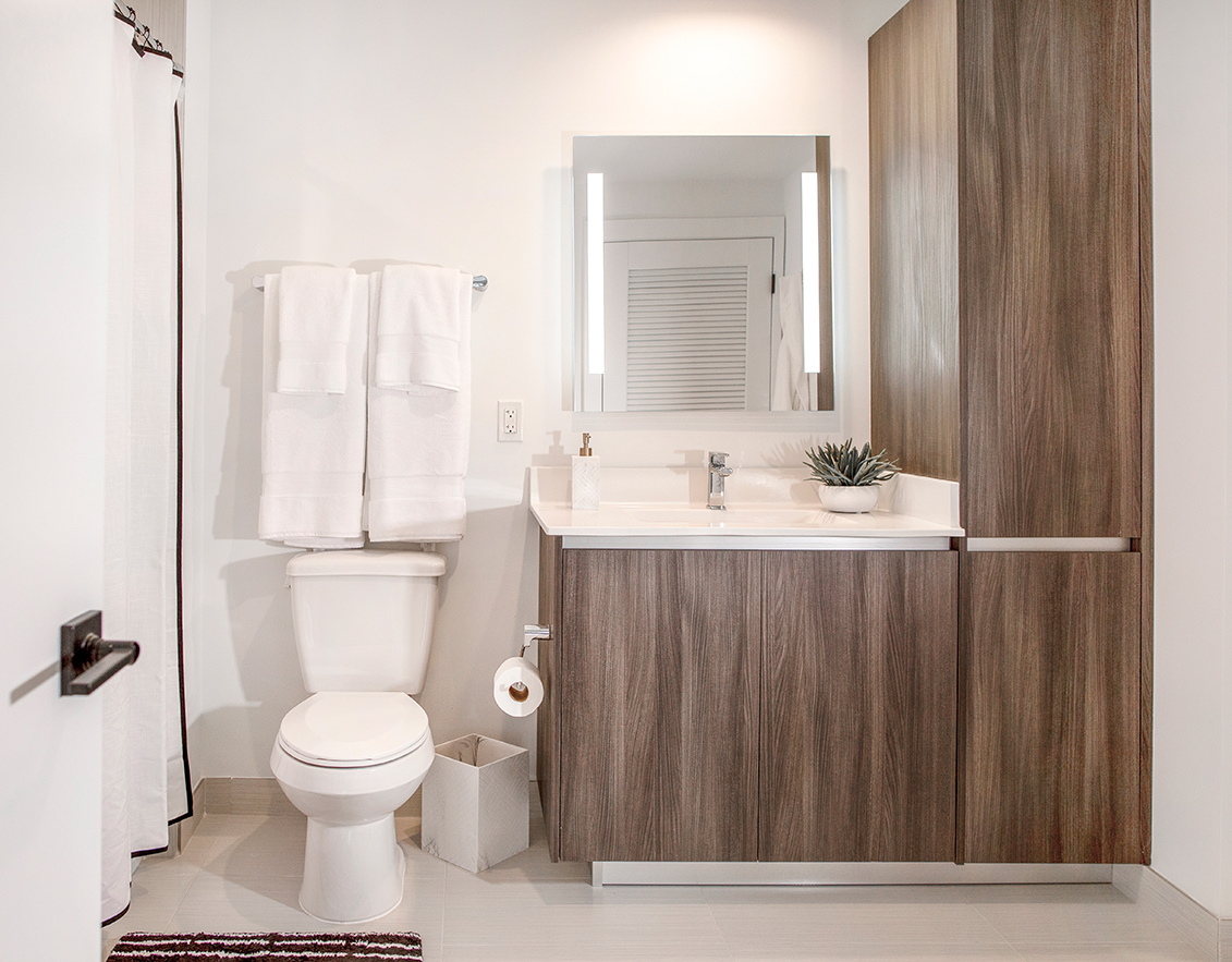 unit bathroom sanctuary