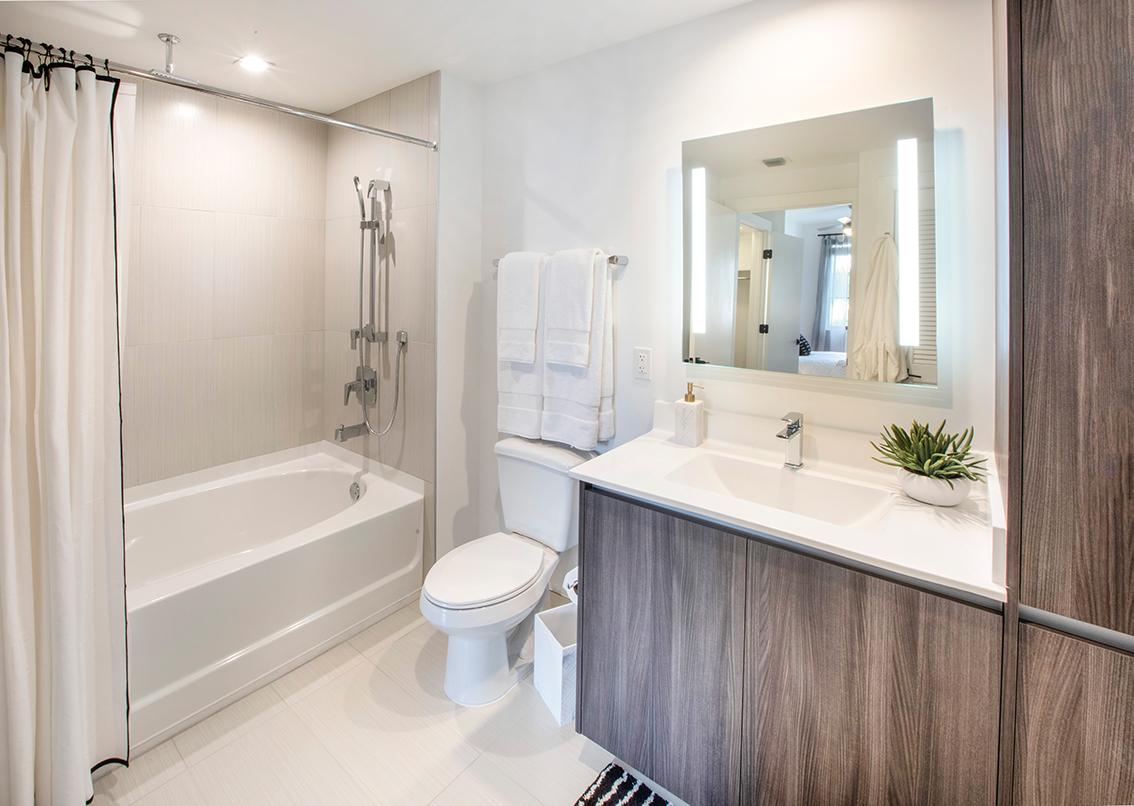 Bathtub Bathroom at Sanctuary Doral