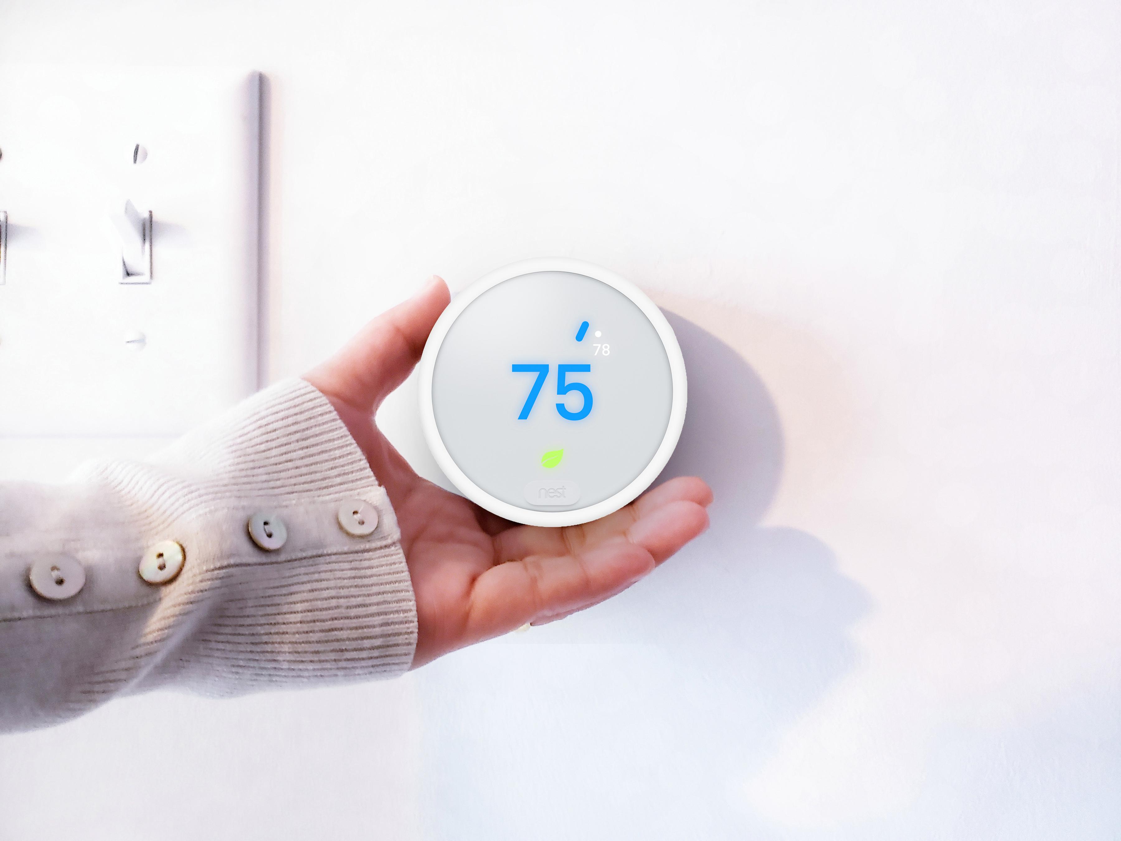 Digital Thermostat at Sanctuary Doral